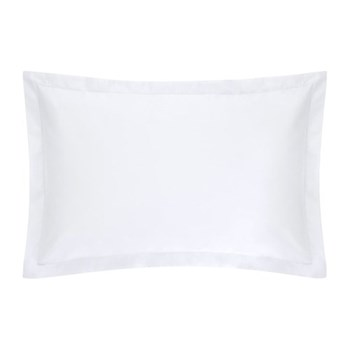 1000TC Cotton Sateen Oxford pillowcase, 50 x 75cm, snow