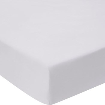 1000TC Cotton Sateen Super king size fitted sheet, 180 x 203cm, dove