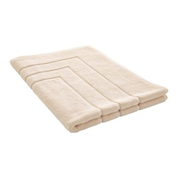 Egyptian Luxury Towel Bath mat, 60 x 90cm, parchment egyptian cotton