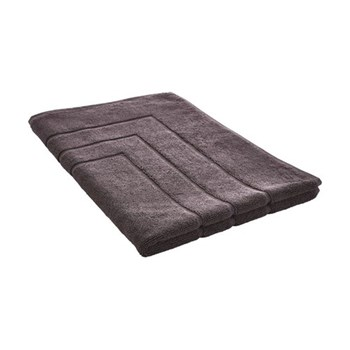 Egyptian Luxury Towel Bath mat, 60 x 90cm, graphite egyptian cotton