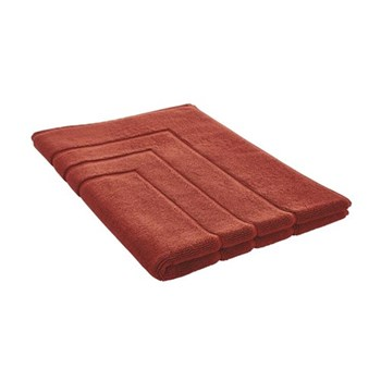 Egyptian Luxury Towel Bath mat, 60 x 90cm, burnt red egyptian cotton