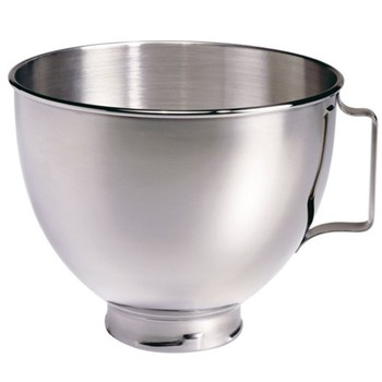 5K45SBHW Polished bowl with handle for mixer, 4.5 litre, stainless steel