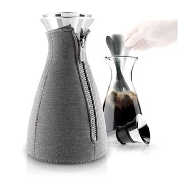 Cafe solo Coffee maker, 1 litre, dark grey woven