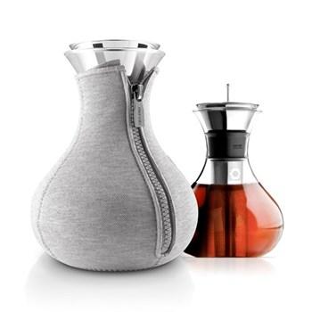 Tea maker, 1 litre, light grey woven
