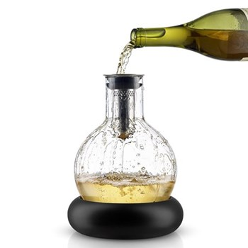 Decanter carafe with cool element 0.75 litre