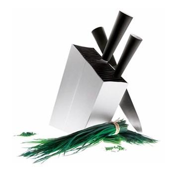 Angled knife stand, grey