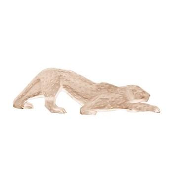 Zeila Panther figure, H6.2 x L21 x 1cm, gold