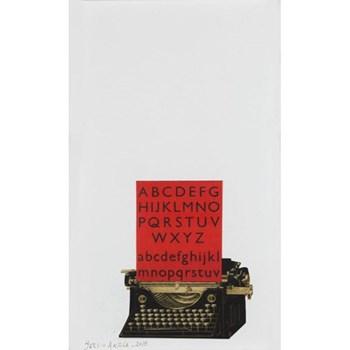 Maquina de Escribir by Sergio Artola 26 x 36 x 2cm