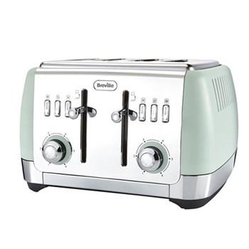 Strata Toaster, 4 Slice, green