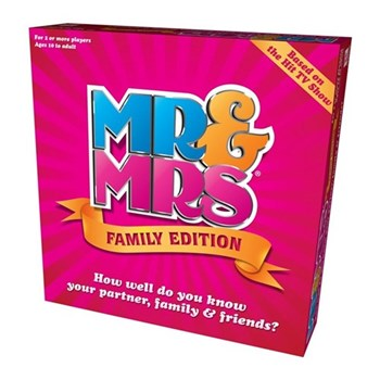 Mr & Mrs - family edition