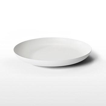 Tablo Tray, D52 x H7cm, white