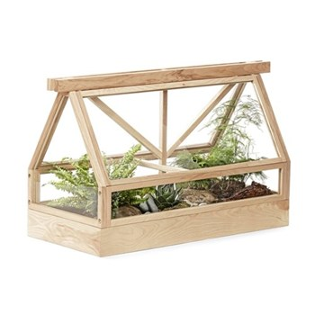 Greenhouse top part, L95 x W40 x H60cm, ash