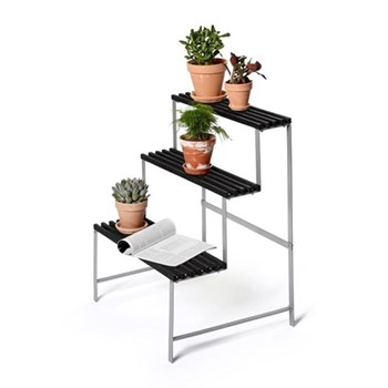 Flower pot stand, 65 x 53 x 78cm, dark grey