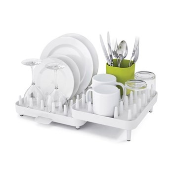 Connect Adjustable dish rack, white