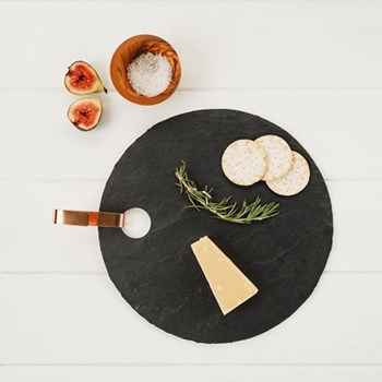 Round hanging serving board 30 x 30cm