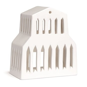 Lighthouse candle holder H15 x W13cm
