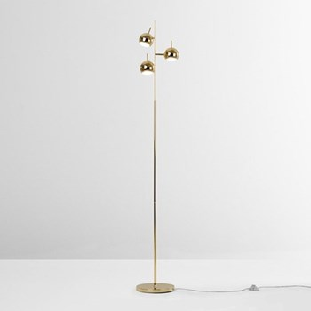 Austin Floor lamp, brass