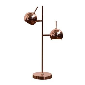 Austin Table lamp, H50 x W30 x D13cm, copper