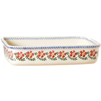 Old Rose Large rectangular oven dish, L30 x W22cm