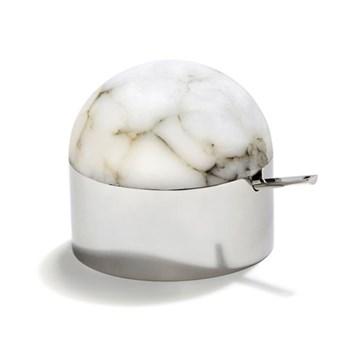 Amare Sugar bowl, stainless steel
