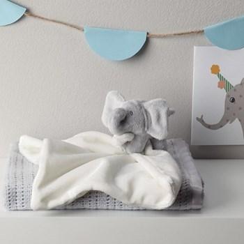 Kimbo Comforter, 25 x 25cm, grey