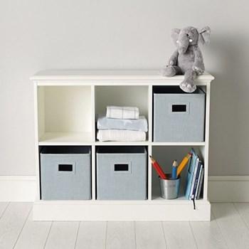 Classic Storage unit for 6 cubes, 83 x 102 x 35cm, white