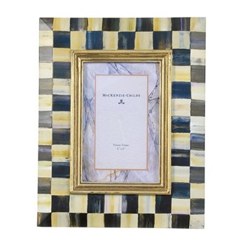 Courtly Check Photograph frame, 5 X 7""
