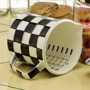 Courtly Check Measuring cup, D12 x H14cm