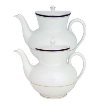 Nuit Bleue Platine Teapot large, 1.3 litre