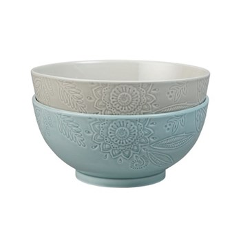 Pair of serving bowls large