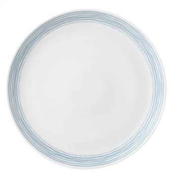 Ellen DeGeneres - Polar Blue Dots Dinner plate, 28cm