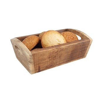 Nordic Deep tray, 28.7 x 18 x 10cm, natural