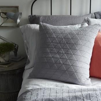 Stockholm Cushion, 65 x 65cm, grey