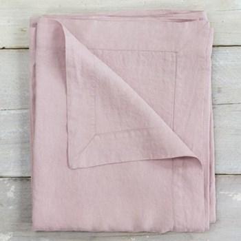 Linen Tablecloth, 140 x 230cm, blush