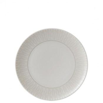 Ellen DeGeneres - Taupe Stripe Side plate, 21cm