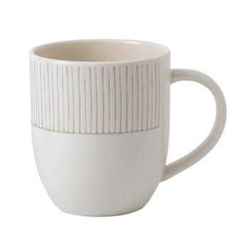 Ellen DeGeneres - Taupe Stripe Mug, 400ml