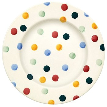 Polka Dot Plate, 21.5cm