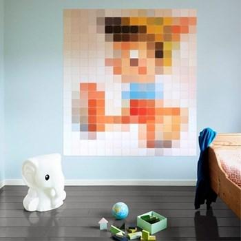 Disney - Pinocchio Wall decoration - pixel, 160 x 180cm