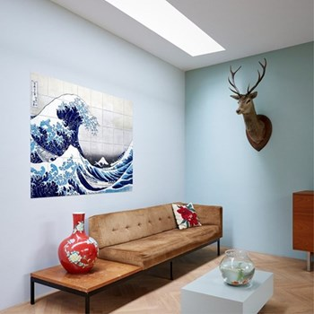 Art - The Great Wave Wall decoration, 100 x 80cm