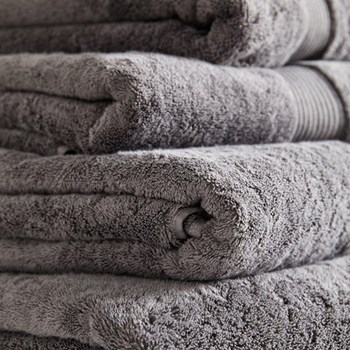 Egyptian Cotton Hand towel, 50 x 90cm, slate