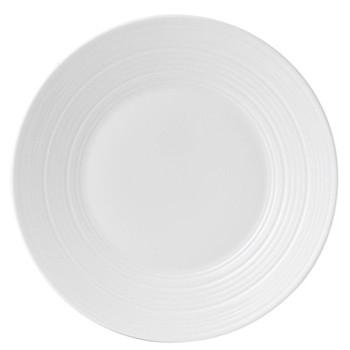 Jasper Conran - Strata Plate, 23cm, white