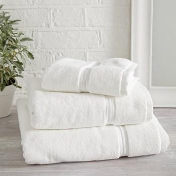 Savoy Bath sheet, 100 x 150cm, white