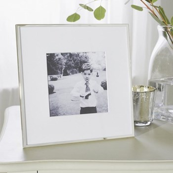 Fine Silver Photograph frame, 5 x 5""