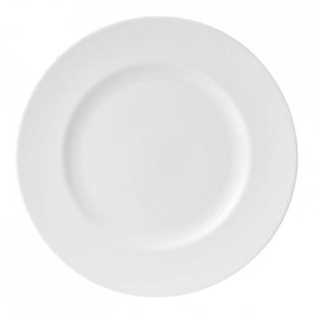 White China Dinner plate, 27cm