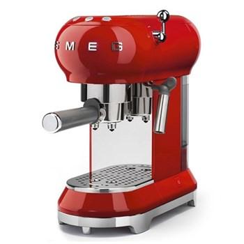 50's Retro Espresso machine, red