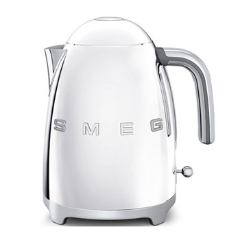 50's Retro Kettle, 1.7 litres, polished stainless steel