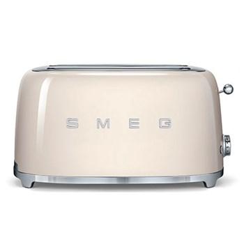 50's Retro Toaster -4 slice, cream