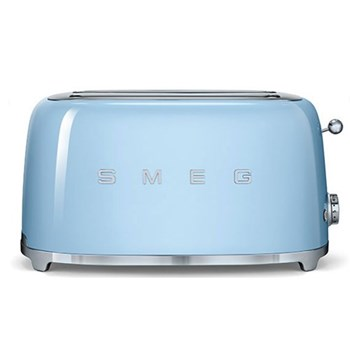50's Retro Toaster -4 slice, pastel blue