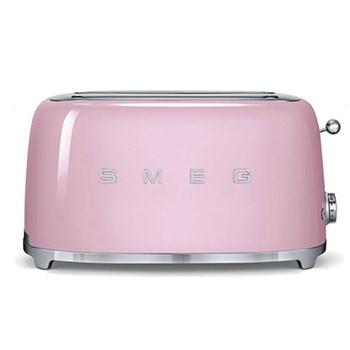 50's Retro Toaster - 4 slice, pink