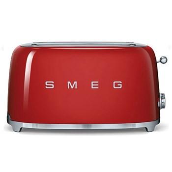50's Retro Toaster - 4 slice, red